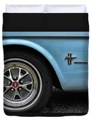 1964 Ford Mustang Duvet Cover by Gordon Dean II