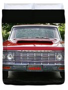 1964 Plymouth Savoy Hemi  Duvet Cover by Gordon Dean II