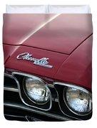 1968 Chevy Chevelle SS Duvet Cover by Gordon Dean II