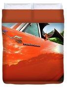 1969 Plymouth Road Runner 440 Roadrunner Duvet Cover by Gordon Dean II