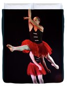 Ballet Performance  Duvet Cover by Chen Leopold