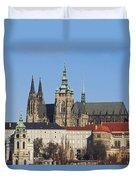 Cathedral Of St Vitus Duvet Cover by Michal Boubin