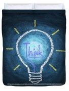 Light Bulb Design Duvet Cover by Setsiri Silapasuwanchai