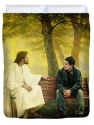 Lost and Found Duvet Cover by Greg Olsen