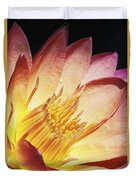 Pink Water Lily Duvet Cover by Bill Brennan - Printscapes