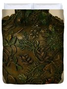 Wildflower Vase Detail Duvet Cover by Dawn Senior-Trask