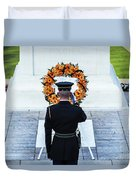 Tomb Of The Unknown Soldier Duvet Cover by John Greim