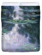 Waterlilies Duvet Cover by Claude Monet