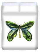 6 Queen Alexandra Butterfly Duvet Cover by Amy Kirkpatrick