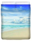 Beach Duvet Cover by MotHaiBaPhoto Prints