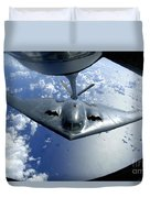 A B-2 Spirit Moves Into Position Duvet Cover by Stocktrek Images