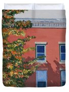 A Brick in Time Duvet Cover by Lynne Reichhart