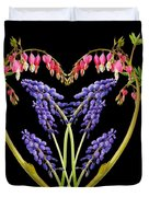 A Heart Of Hearts Duvet Cover by Michael Peychich