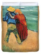 A Pair Of Lovers Duvet Cover by Vincent Van Gogh