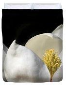 A Peek Inside A Magnolia Duvet Cover by Sabrina L Ryan