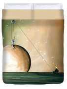 A Solar System Duvet Cover by Cindy Thornton