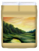 A Spring Evening Part Two Duvet Cover by James Christopher Hill