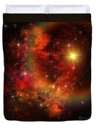 A Star Explodes Sending Out Shock Waves Duvet Cover by Corey Ford