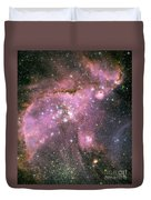 A Star-forming Region In The Small Duvet Cover by Stocktrek Images
