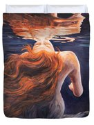 A Trick Of The Light - Love Is Illusion Duvet Cover by Marco Busoni