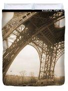A Walk Through Paris 13 Duvet Cover by Mike McGlothlen