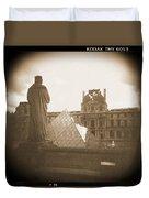 A Walk Through Paris 16 Duvet Cover by Mike McGlothlen