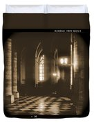 A Walk Through Paris 26 Duvet Cover by Mike McGlothlen