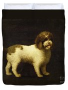 A Water Spaniel Duvet Cover by George Stubbs