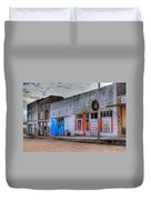 Abandoned Main Street Duvet Cover by Douglas Barnett