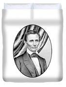 Abraham Lincoln Circa 1860 Duvet Cover by War Is Hell Store