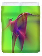 Abstract 091610 Duvet Cover by David Lane