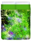 Abstract 5-26-09 Duvet Cover by David Lane