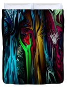 Abstract 7-09-09 Duvet Cover by David Lane
