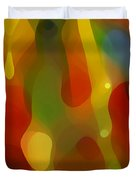 Abstract Flowing Light Duvet Cover by Amy Vangsgard