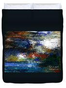 Abstract Impression 5-9-09 Duvet Cover by David Lane