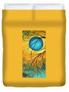 Abstract Landscape Art Passing Beauty 1 Of 5 Duvet Cover by Megan Duncanson