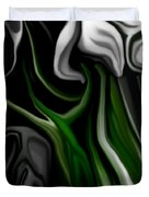 Abstract309h Duvet Cover by David Lane
