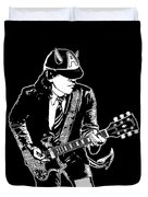 Acdc No.03 Duvet Cover by Caio Caldas