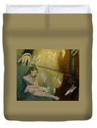 Adagio  Sentimental Confusion Duvet Cover by Dorina  Costras