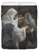 Address To Saint Philip Duvet Cover by Tissot