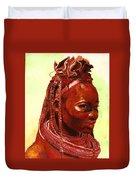 African Beauty Duvet Cover by Enzie Shahmiri