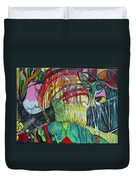 African Roots Duvet Cover by Peggy  Blood