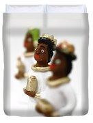 African Wise Men Duvet Cover by Gaspar Avila