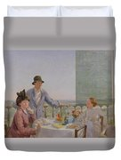After Lunch Duvet Cover by Gerard Chowne