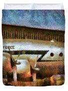 Air - United States Air Force Duvet Cover by Mike Savad