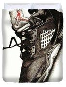 Air Jordan Duvet Cover by Robert Morin