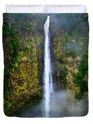 Akaka Falls Duvet Cover by Christopher Holmes
