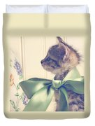 All Dressed Up Duvet Cover by Amy Tyler