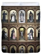 Altar Screen Cathedral Basilica of St Francis of Assisi Santa Fe NM Duvet Cover by Christine Till