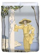 Amalfi Duvet Cover by Georges Barbier